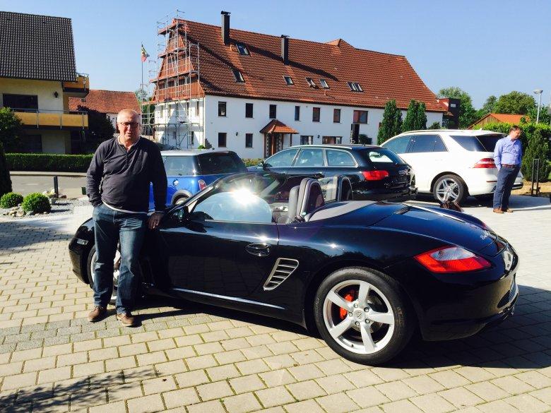 Ein Porsche ohne Dach!